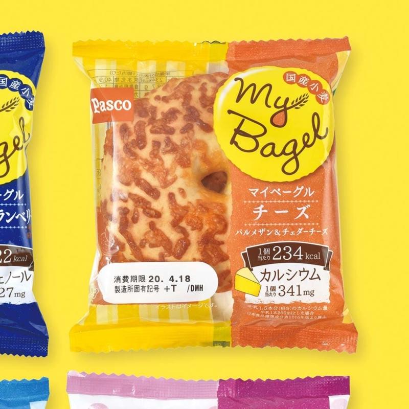 食品パッケージデザインpascoマイベーグル02