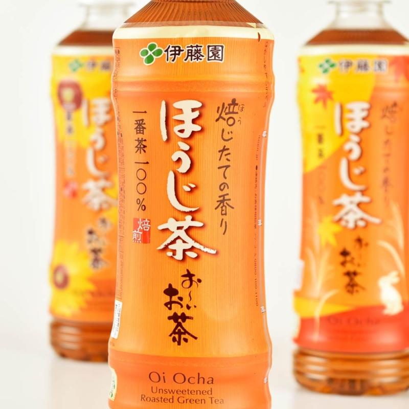 パッケージデザインお〜いお茶ほうじ茶6